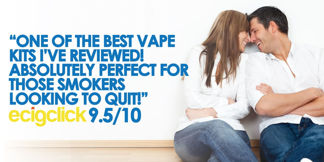 One of the best vape kits I've ever reviewed! Absolutely perfect for those heavy smokers looking to quit.  9.5 out of 10 ecigclick