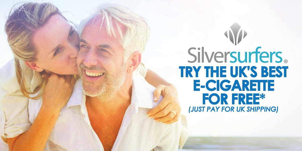 SMOKO E-Cigarettes and Silversurfers have a partnership that offers their members great discounts on the UK's Best E-Cigarettes, VAPES and E-Liquids