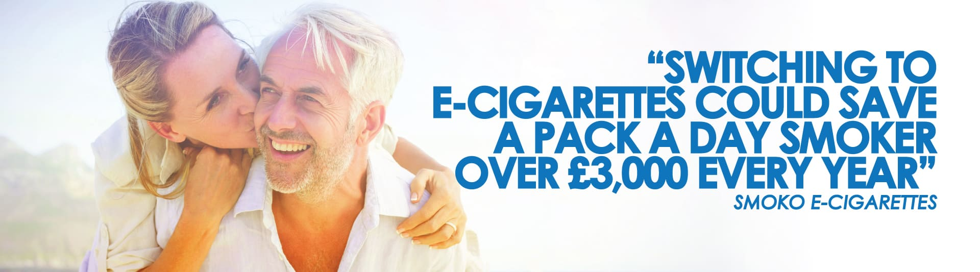 switching to e-cigarettes could save a pack-a-day smoker over £3000 every year