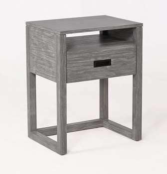 Vadstena Nightstand in Grey