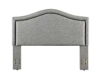 Grayling Headboard - King/Cal-King, Granite Gray