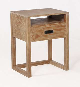 Vadstena Nightstand in Almond