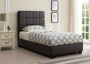 Kenora Platform Bed - Twin, Brown