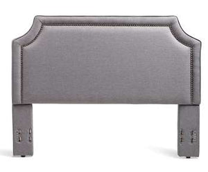 Brossard Headboard - King/Cal-King, Grey