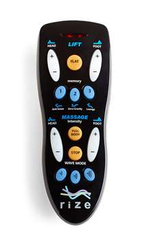 Remote Control for Rize Contemporary II and Avante Adjustable Beds