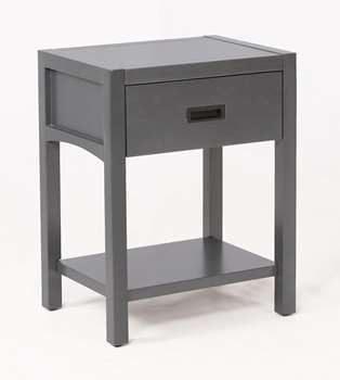 Reisa Nightstand in Flat Grey
