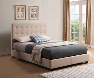 Stratford Platform Bed - King, Taupe