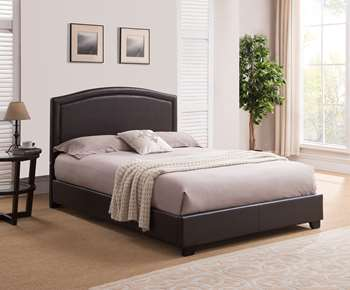 Annapolis Platform Bed - King, Brown