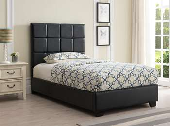 Kenora Platform Bed - Twin, Black