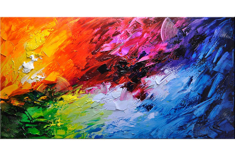 Clever Ideas Abstract Painting - Loko deko