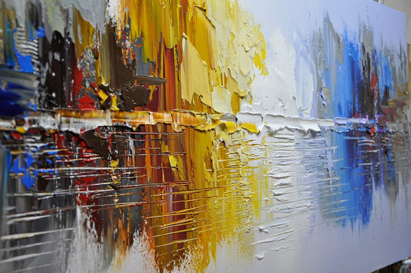 Toronto Abstract AbstractCityscape Painting - Loko deko