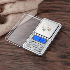 0.01/ 0.1/1G Digital Pocket Kitchen Scale 0.01G Precision Backlight Weighing Scale Measuring Tools 0.1G For Jewelry 100/200/300G