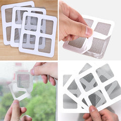1-10Pcs Fix Net Window Home Adhesive Stickers Anti Mosquito Fly Bug Insect Repair Screen Wall Patch Stickers Mesh Window Screen