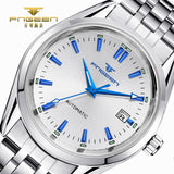 2017 Mens Top Brand Luxury Watches Male Luminous Calendar Waterproof Wrist Watch Stainless Steel Automatic Mechanical Wristwatch