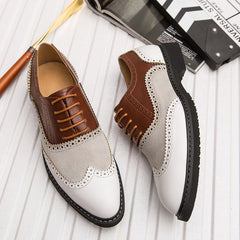2019 Classic Business Men'S Dress Shoes Fashion Elegant Formal Wedding Shoes Men Slip On Office Oxford Shoes For Men Big Size 46