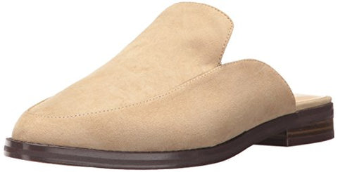 Nine West Women's Venzy Fabric Slipper, Light Natural Fabric, 7.5 M US