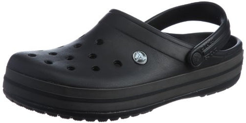 Crocs - Crocs Crocband Clogs (Adult) - Black/Charcoal - Black/Charcoal - Men's 12