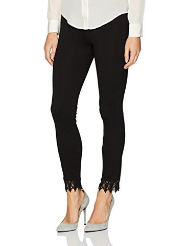 Lyssé Women's Ainsley Emobroidered Legging, Black, L