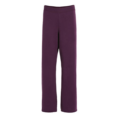 Hanes Women's ComfortBlend Fleece Sweatpants (Large, Plum-Port)