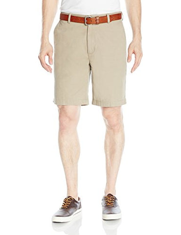 Amazon Essentials Men's Classic-Fit Short, Khaki, 32