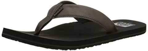 Reef Men's Twinpin Sandal, Grey, 8 M US