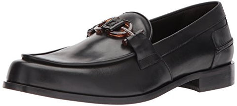 Donald J Pliner Men's Salvo Loafer, Black Calf, 8 M US