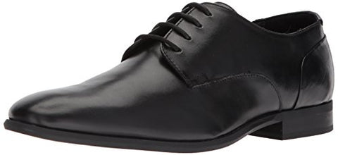 Calvin Klein Men's Lucca Dress Calf Oxford, Black, 10.5 Medium US