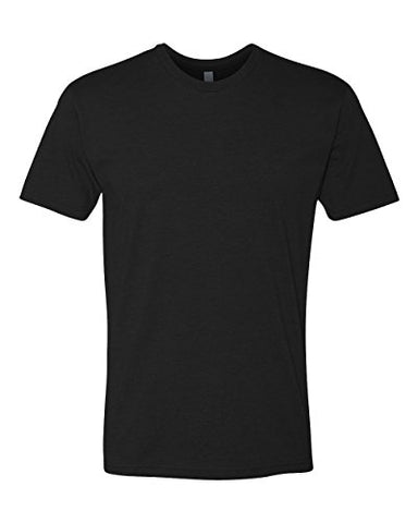 Next Level mens Next Level Premium CVC Crew(N6210)-BLACK-XL