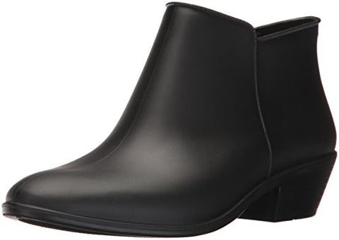 Sam Edelman Women's Petty Rain Boot, Black Matte, 9 Medium US