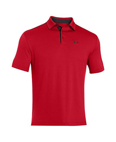 Under Armour Men's UA Leaderboard Polo Large Red