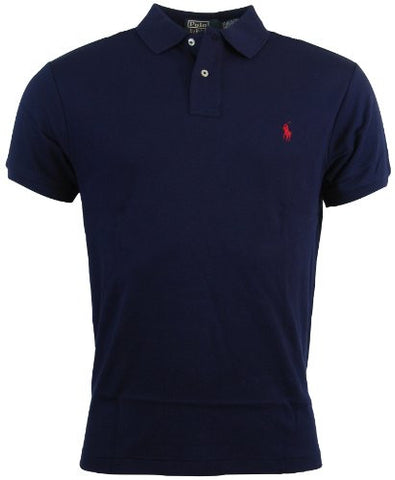 Polo Ralph Lauren Mens Custom Fit Interlock Polo Shirt