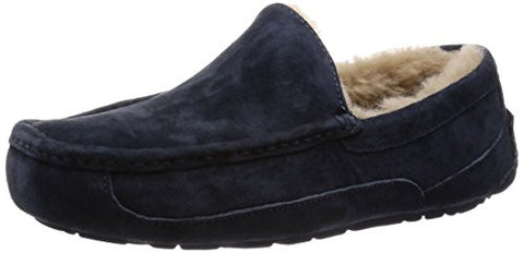 Ugg Men's Ascot Moccasin, NEW NAVY/NEW NAVY, 10 M US