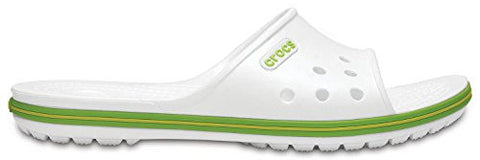 crocs Crocband II Slide White/Volt Green M12