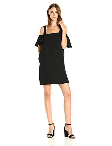 Catherine Catherine Malandrino Women's Hale Dress, Black Beauty, S