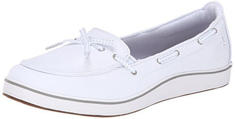 Grasshoppers Women's Windham Slip-On, White, 9 M US