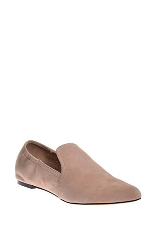 Dolce Vita Women's Hamond Loafer Flat, Blush Suede, 9.5 Medium US