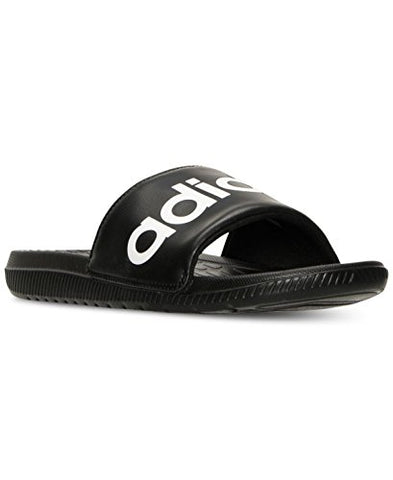 Adidas Performance Mens Voloomix Athletic Sandal (12 D(M) US, Black/White/Black)
