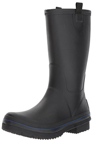 Joules Men's Bosworth Rain Boot, Black, 11 M US