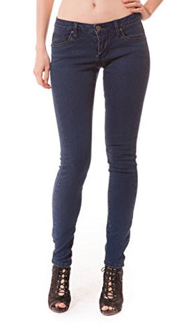 Women's Butt Lift Stretch Denim Jeans-P37369SK-Darkwash-11