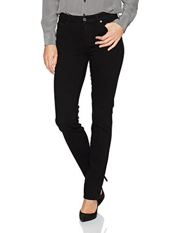7 For All Mankind Women's Kimmie Straight Leg Jean, Blklake, 27