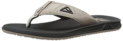 Reef Men's Phantom II Flip-Flop (9 D(M) US / 42 EUR, Black/Tan)