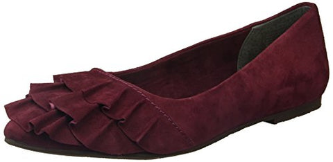 Seychelles Women's Downstage Ballet Flat, Burgundy, 7 M US
