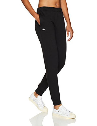 Starter Women's Jogger Sweatpants, Prime Exclusive, Black, S