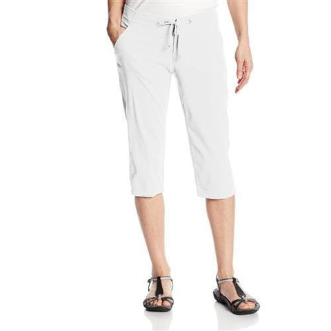 Columbia Women's Anytime Outdoor Capri Pant - White - 10