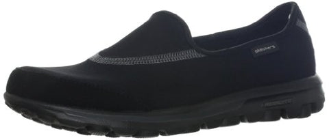 Skechers Performance Women's Go Walk Slip-On Walking Shoe,Black,9 M US