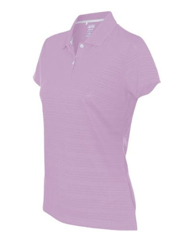 adidas - Golf Ladies' ClimaLite Textured Short Sleeve Polo - A162