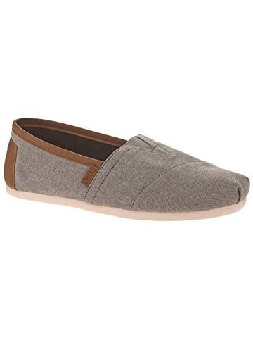 TOMS Men's Chambray Classics Frost Grey Chambray 2 Loafer 8 D (M)