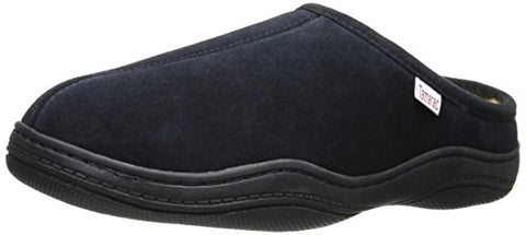Tamarac by Slippers International Men's Scuffy Clog Slipper, Navy, 12 M US