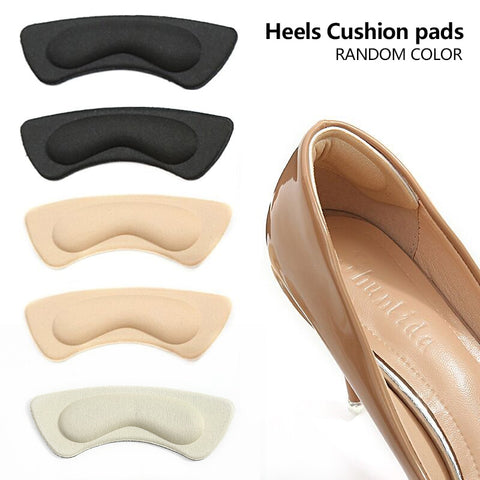 3Pairs Soft Foam Insoles High Heel Shoes Pad Heel Feet Stick Foot Pad Cushion Insoles Relieve Pain