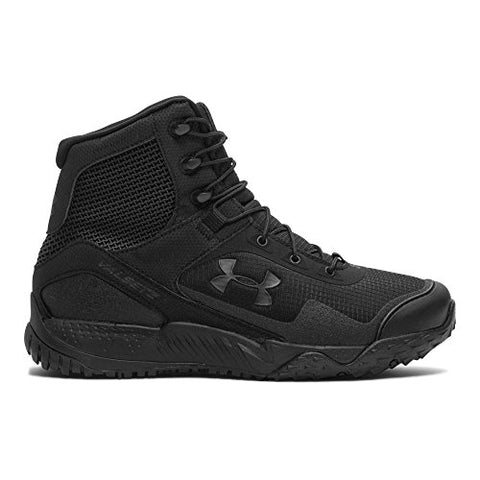 Under Armour Men's Valsetz RTS Tactical Boots, Black/Black, 10 D(M) US